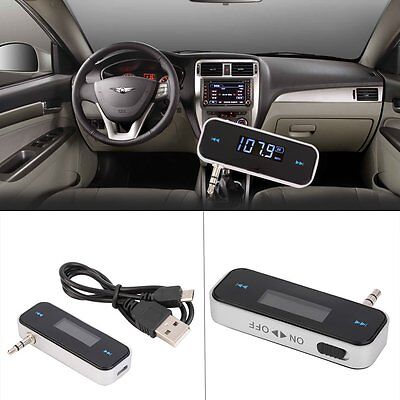 Wireless Bluetooth FM Transmitter MP3 Player Car Kit Charger for iPhone 6 5S EM!