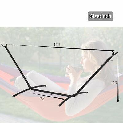 Hammock Stand 9′ Outdoor Patio Portable With Carry Case SD28 Hammocks