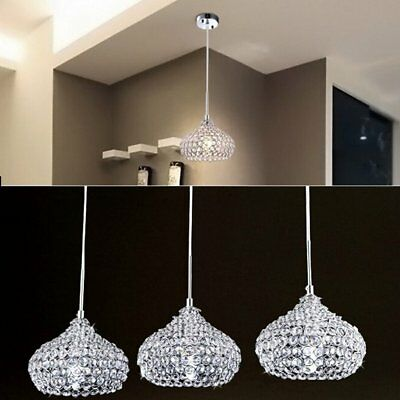 Crystal 1 Wine glass Bar Chandelier Ceiling Light Pendant Lamp LED Lighting BP ()