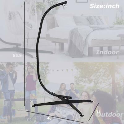 Hammock C Stand Solid Steel Construction For Hanging Air Porch Swing Chair CC79 Hammocks