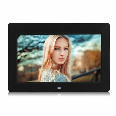 "Digital Photo Frame 10""Inch LCD Picture Calendar  MP3/4 Movie Player Black US VP"