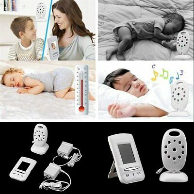 2.4GHz Wireless Digital LCD Baby Safe Monitor Camera Audio Video Night Vision!!!