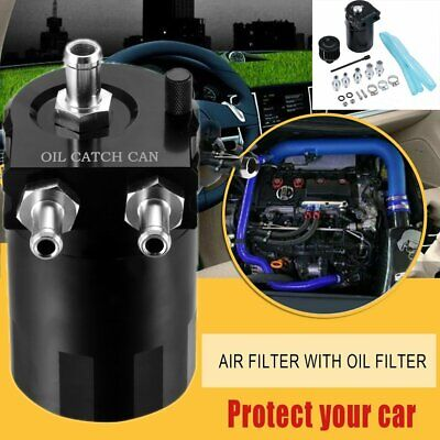 Ölauffangbehälter Öltank Ölsammler Ausgleichbehälter Auto Oil Catch Tank 0.3L