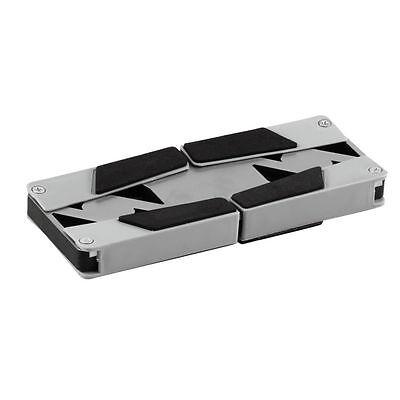 USB Foldable Folding Cool Cooler Cooling Fan Pad w/ 2 Fan for Laptop Notebook Sv