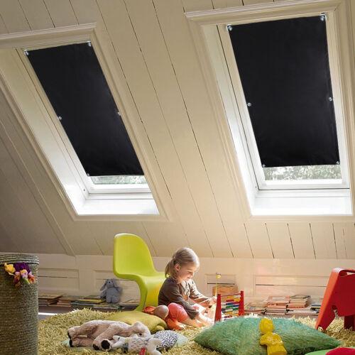 Verdunkelungsrollo Dachfensterrollo Sonnenschutz mit Saugnäpfe ohne Bohren DHL