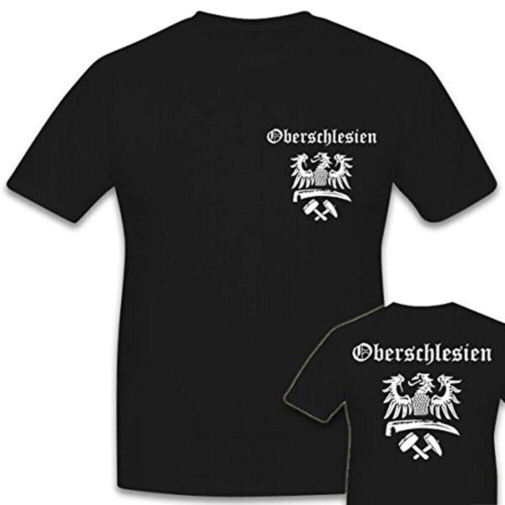 Oberschlesien Schlesien Breslau Heimat Polen Kattwitz Katowice- T Shirt #3462