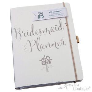 BRIDESMAID PLANNER -Wedding Journal/Organiser/Notebook/Planning Book-Lovely Gift