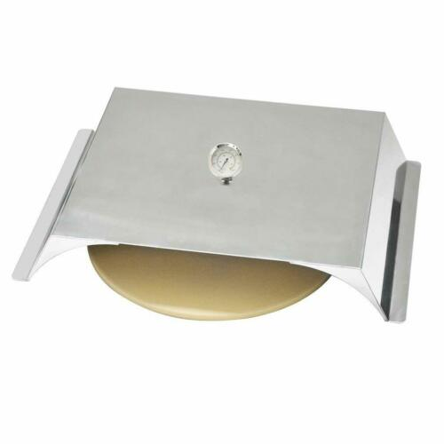 Stainless Steel Pizza Oven Kit for Gas Grills, 22x15 Inches