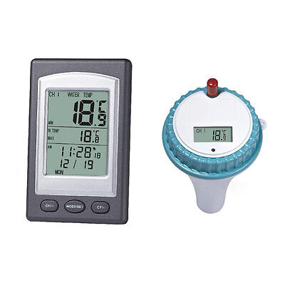 Wireless Thermometer In Swimming  Pool Spa Hot Tub SSterproof  Thermometer yR