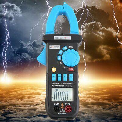 Bside Acm01 Plus Digital Ac 600a Ac 600v Clamp Multimeter Volt Amp Tester V3