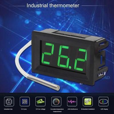 Mini Digital Thermocouple Meter Led Display K-type Industrial Gauge Xh-b310 Bg
