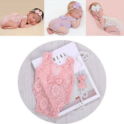 Newborn Baby Girls Boys Angel Wings Costume Photo Photography Prop Outfits US#OW