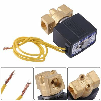 14 Electric Solenoid Valve Water Oil Air Gas Welders 110120 Volt Ac B20nv Se