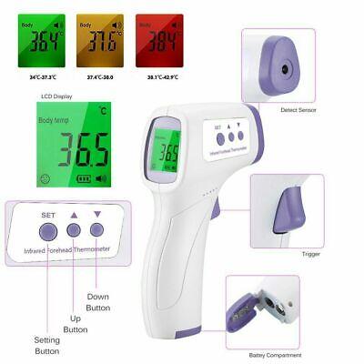 Infrared Thermometer Lcd Non-contact Temperature Gun Digital Ir Temp Meter