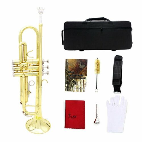 Blasinstrumente B-Trompete Messing Trompete EX