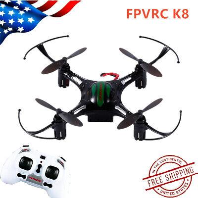 FPVRC K8 2.4G 4CH 4Aixs MINI Drone RC Helicopter Quadcopter Altitude Mode USA