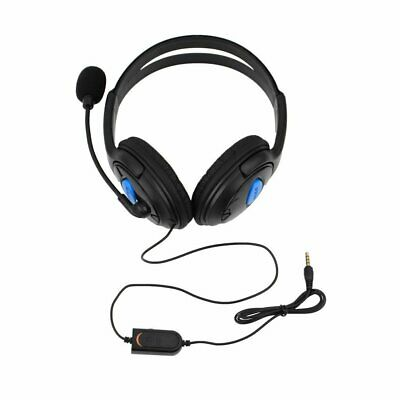 Wired Gaming Headset Headphones With Best Microphone For Sony PS4 PlayStation