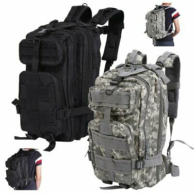 OUTDOOR MILITARY TACTICAL BAGS BACKPACK CAMPING HIKING BAG CAMOUFLAGE - Camouflage Backpacks