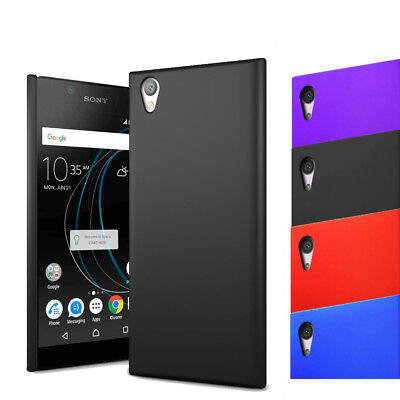 For Sony Xperia L1 - Hybrid Hard Case Slim Thin Clip On Cover & Screen Protector