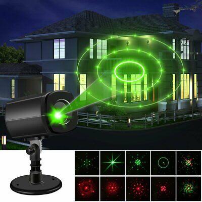 Christmas Projector Light LED Laser Landscape Outdoor Xmas Lamp Landscape US