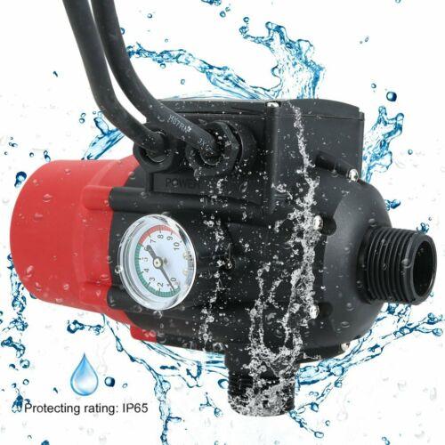 Pumpensteuerung Tauchpumpe Tiefbrunnen Gartenpumpe Druckschalter mit Baranzeige%