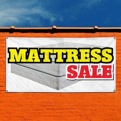 Vinyl Banner Sign Mattress Sale Business Style A Marketing Advertising White