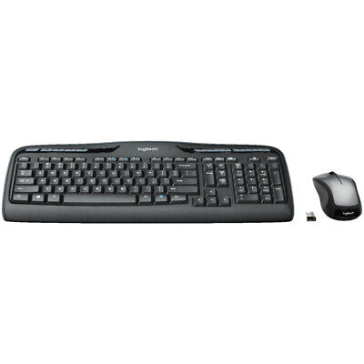 Logitech MK335 Wireless Desktop Keyboard and Mouse