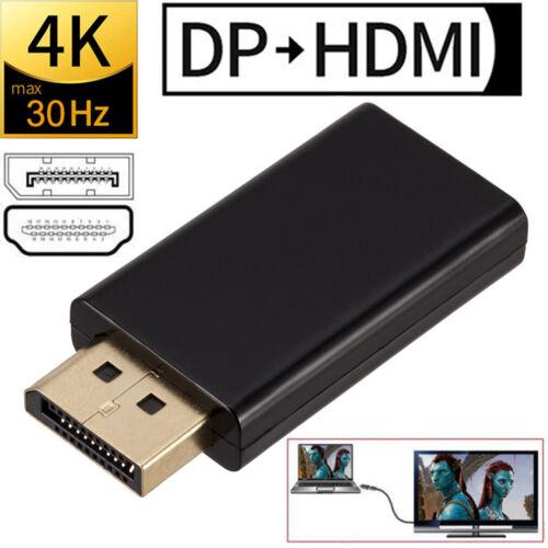 4K Displayport zu HDMI Adapter 2160P DP Konverter UHD Audioübertragung Stecker