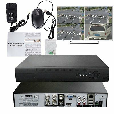 - 4CH 960H H.264 DVR 4 Channel Digital Video Recorder 1080P for Security Camera