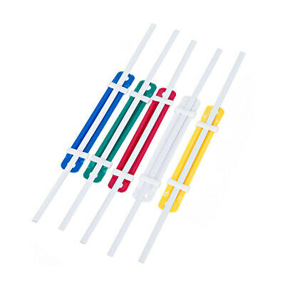 50 Sets Office Colorful Plastic Binding Fastener File Document Paper School New