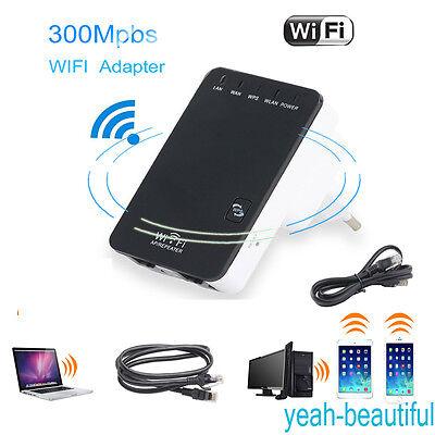 Mini Router 5 in1 Repeater Verstärker WPS 300 Mbit Wifi WLAN Kabellos Client LAN