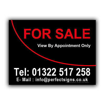 For Sale Correx Sign Printed Boards House Estate Agent Property Signs(CORPP00020