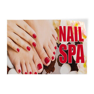 Nail Spa 2 Indoor Store Sign Vinyl Decal Sticker