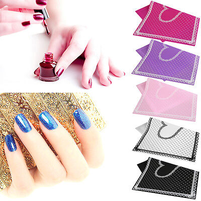 Lace Polka Dot Heart Pattern Nail Art Table Mat Pad Manicure Clean Nail Tools