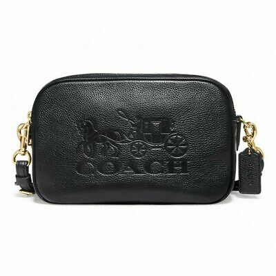 New Authentic Coach F75818 Jes Crossbody Shoulder Bag Purse Handbag Black