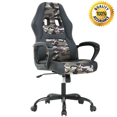 Swivel Office Chair Gaming Desk Racing Gaming Chair High Back Computer Chair