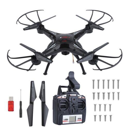 LOT Syma X5SW Wifi FPV Explorers 2.4G 4CH RC Quadcopter Drone HD Camera Black BP