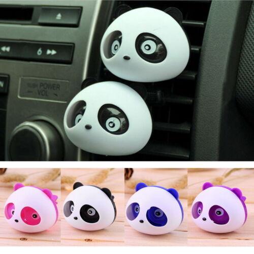 Panda Animal Car Air Vent Clip on Essential Oil Diffuser Fre