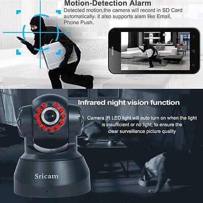P2p Wireless Ip Cam Wifi Security Surveillance System Night Vision Ir Webcam Vip