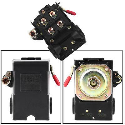 Single Port Air Compressor Pressure Switch Control Valve 95-125 Psi W Unloader
