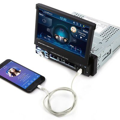 Single DIN 7 inch Touchscreen Player Car Stereo FM Radio Player