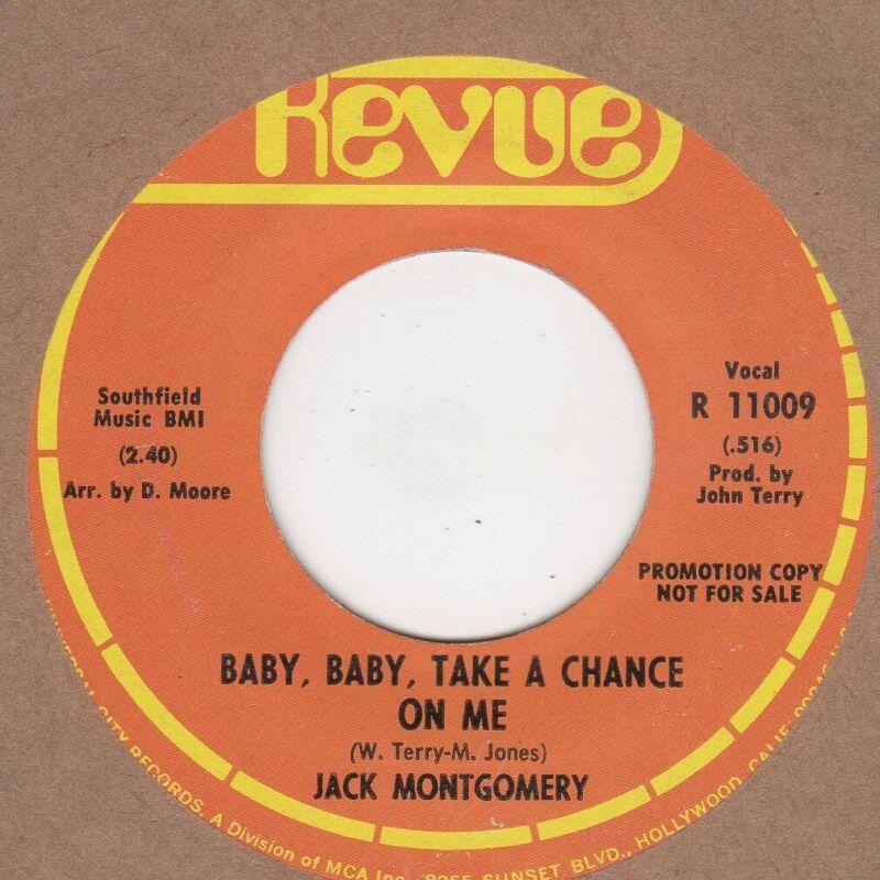 Jack Montgomery Baby Baby Baby Revue DEMO Soul Northern motown