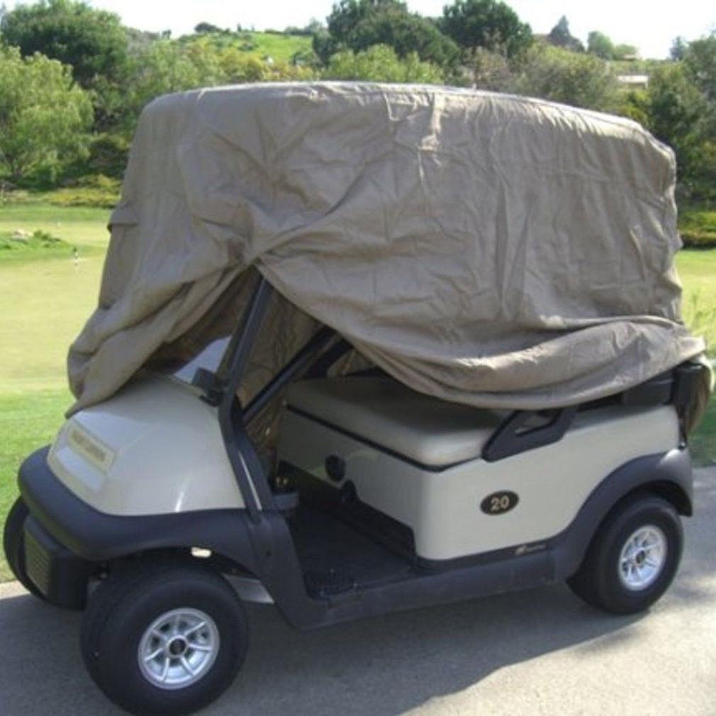 Waterproof golf cart cover 4 seats ezgo club car yamaha for Golf cart plans