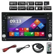 Double 2 Din Car DVD Player Radio Stereo GPS SAT NAV MP3 AUX USB Sydney City Inner Sydney Preview
