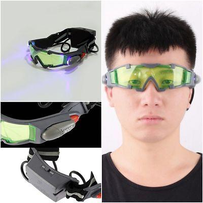 Hot Green Lens Adjustable Elastic Band Night Vision Goggles Glasses Eyeshield Oy