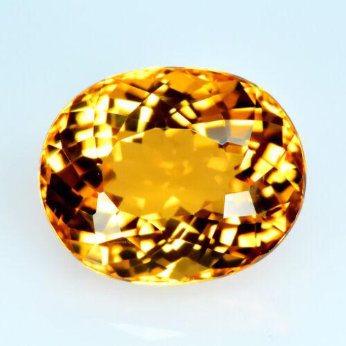 1.68CT UNIQUE FINE LUSTROUS NATURAL HELIODOR GOLDEN YELLOW BERYL GEMSTONE