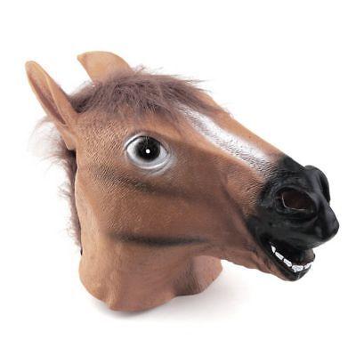 Halloween Costume Party Latex Testa di Cavallo Maschera Carnevale Lattice Gomma