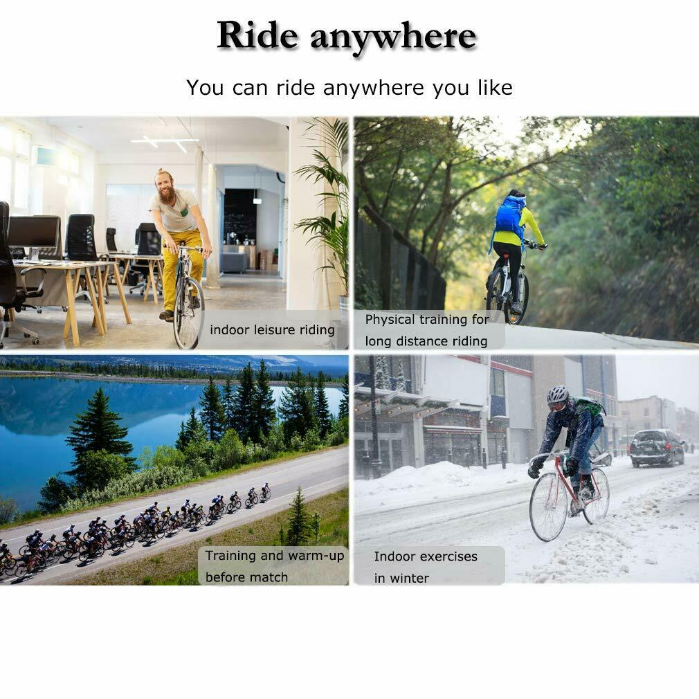 New Cycle Bike Trainer Indoor Bicycle Exercise Portable Magnetic Work Out Bicycle Accessories
