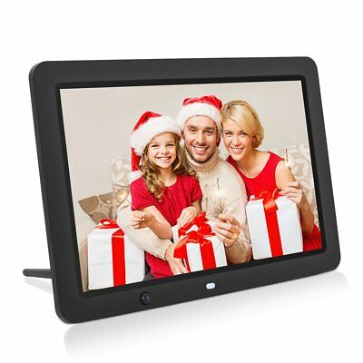 """12"""" HD LCD Digital Photo Frame with Multimedia Playback With Touch Butto"""