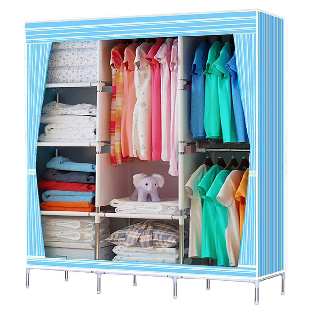 space organizer clothes hidden savers shoe portable closet cynicalpeaklog doors ikea dorm